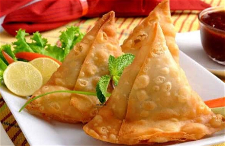 Foto Vegetable samosa
