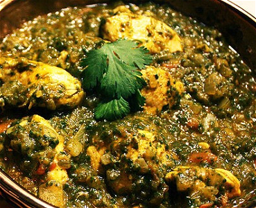 Foto Saag Chicken